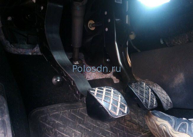регулировка сцепления поло седан фольксваген