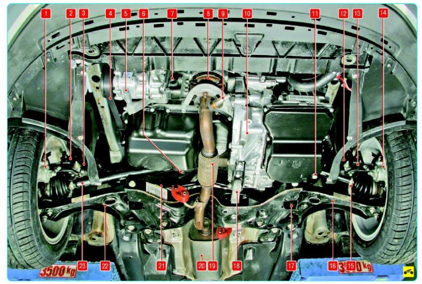 основные агрегаты Поло седан