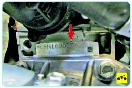 Идентификационный номер двигателя Поло седан