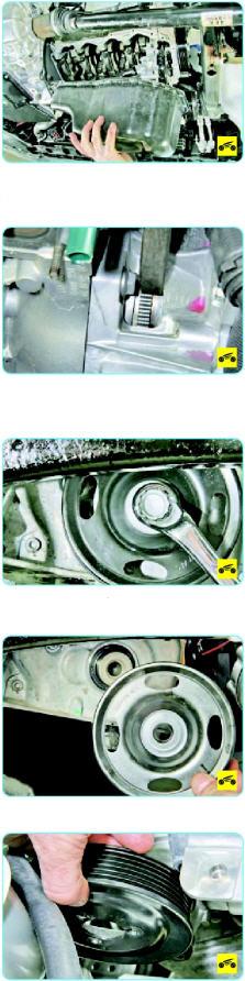 Замена прокладки крышки ГРМ Поло седан