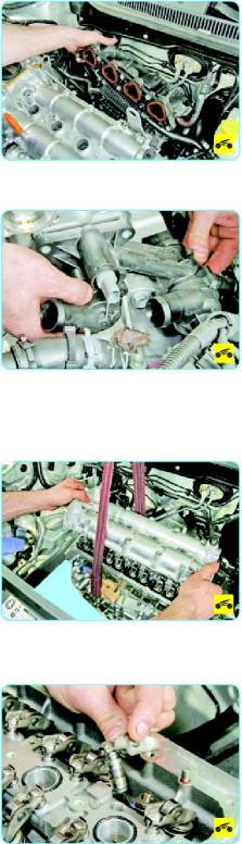 Замена прокладки блока цилиндров Поло седан