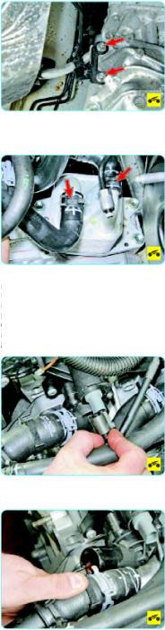 снять двигатель Поло Седан