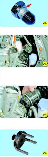 Замена масляного фильтра Поло Седан
