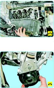 Замена масляного насоса в двигателе Поло Седан
