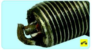 Механические повреждения электродов Поло седан