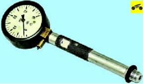 Проверка компрессии в цилиндрах Поло седан