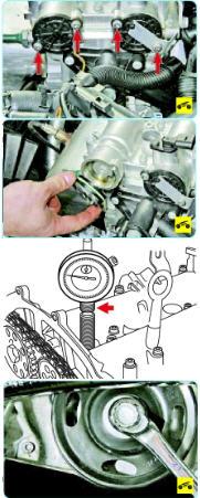 Установка поршня первого цилиндра в положение вмт такта сжатия Поло седан