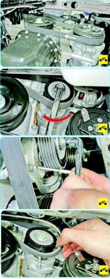 Замена ремня навесных агрегатов Поло седан