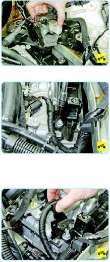 Замена левой опоры двигателя Поло седан