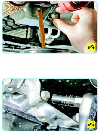 Замена прокладок картера двигателя Поло Седан