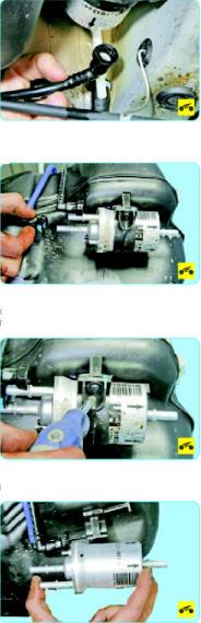 Замена топливного фильтра Поло седан