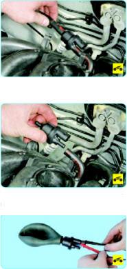 Проверка клапана продувки адсорбера поло седан