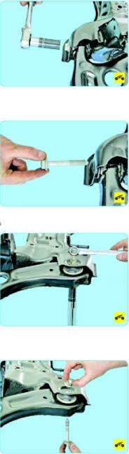 Замена рычага передней подвески Поло седан