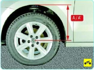 Поло седан установка углов колес