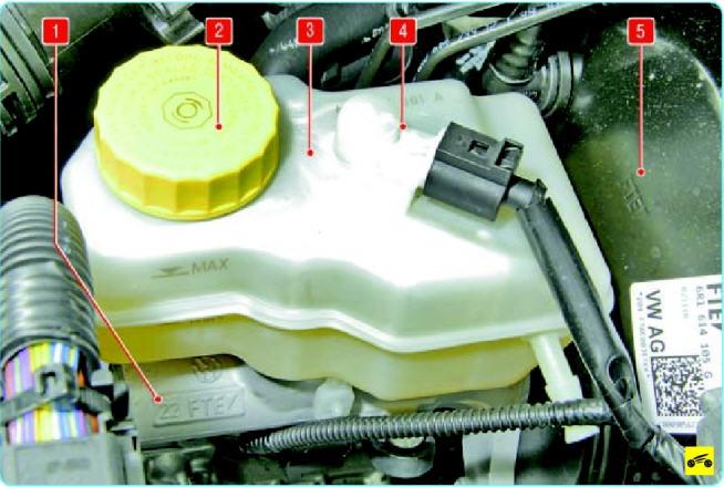 Главный тормозной цилиндр поло седан