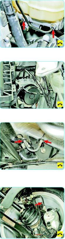 Проверка тормозной системы Поло седан