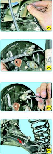 Замена тормозных трубок Поло седан