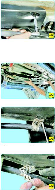 Замена троса стояночного тормоза Поло седан