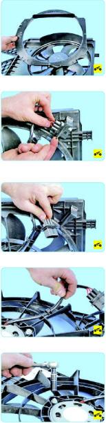 Замена вентилятора системы охлаждения Поло Седан