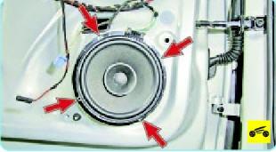 Аудиосистема Поло седан, Снятие и установка