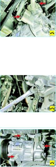 Снимаем компрессор кондиционера Поло седан