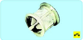 Извлеките из корпуса ресивера сетчатый фильтр и старый картридж.