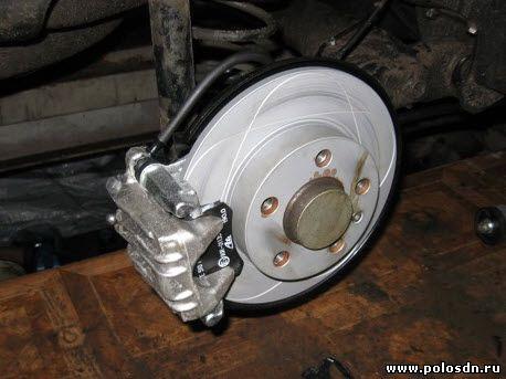 Замена барабанных тормозов на дисковые Поло Седан